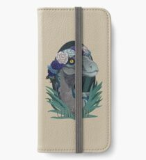 Clever Girl - Blue iPhone Wallet/Case/Skin