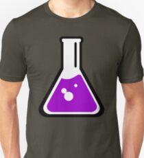 Chemical beaker cartoon Unisex T-Shirt