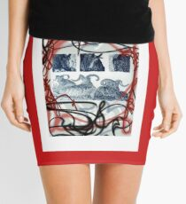 LOVE HORNS  Mini Skirt