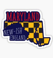 Newish England (Maryland) Sticker
