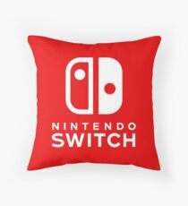 Nintendo Switch Logo Throw Pillow