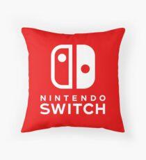 Nintendo Switch Logo Throw Pillow