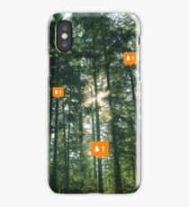 Forest Notifications iPhone Case/Skin
