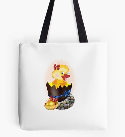 Easter Chick (4608 Views) Tote Bag
