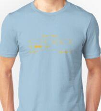 """Fallout New Vegas """"Black T-Shirt"""" Stats T-Shirt"""
