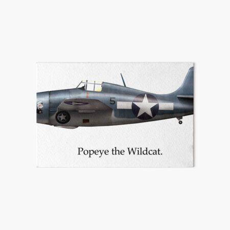 Popeye the Wildcat Art Board Print