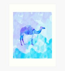 Abstract Camel Art Print