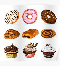 Sweets Collection Poster