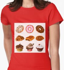 Sweets Collection Womens Fitted T-Shirt