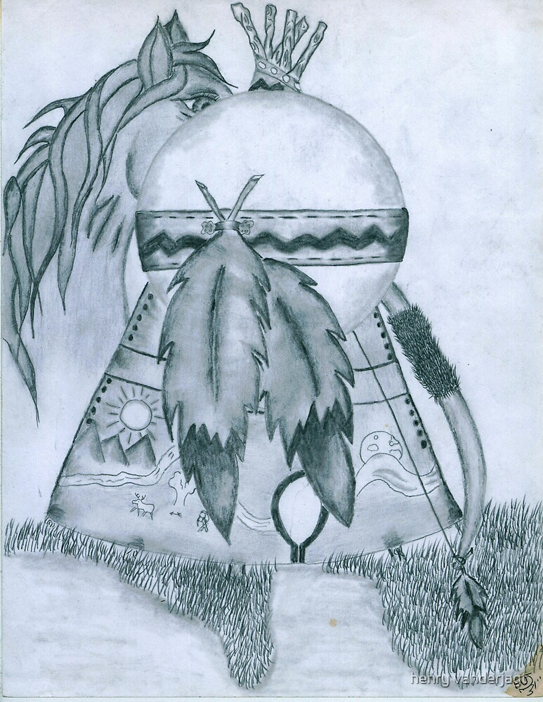 TEEPEE DREAMS by Henry VanderJagt