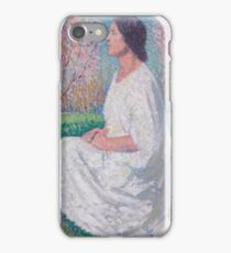 Henri Martin - The Muse Kneeing iPhone Case/Skin