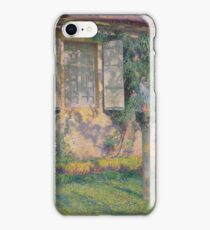 Henri Martin - Mother Mary With Baby Jesus In Front Of Marqyuarol, 1915 iPhone Case/Skin