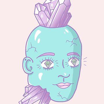 Crystal Head by TinyTulsi