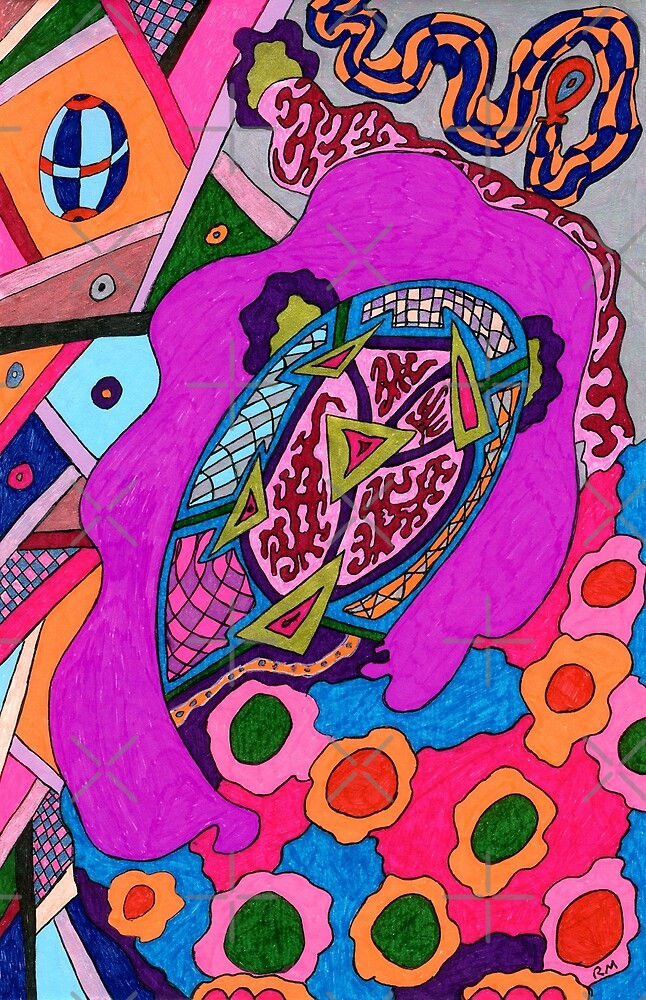Circus Lion by Rebekah  McLeod
