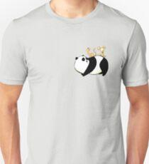 A Panda, a Cat and a little girl Robot Unisex T-Shirt