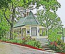 An old home in Eureka Springs, Arkansas by Graeme  Hyde