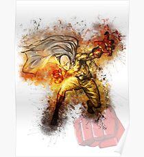 Saitama - One Punch Man Poster