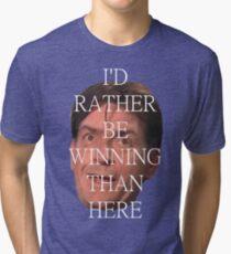 charlie sheen is winning Tri-blend T-Shirt