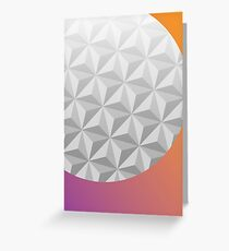 Epcot Center Greeting Card