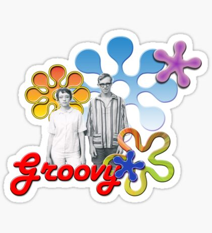 """Groovy"" Sticker"