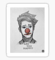 ARE_YOU_HAPPY? Sticker