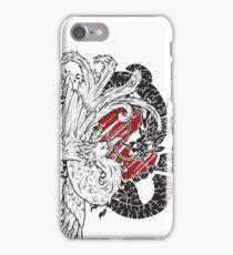 Phoenix vs Dragon Yin Yang iPhone Case/Skin
