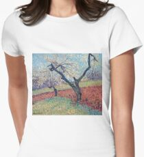 Henri Martin - An Old Plum Trees, 1940 Womens Fitted T-Shirt