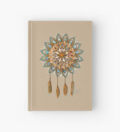 Golden Dreams Dreamcatcher Hardcover Journal