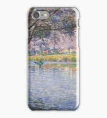 Henri Lebasque - Banks Of The River Marne Near Montevrain iPhone Case/Skin