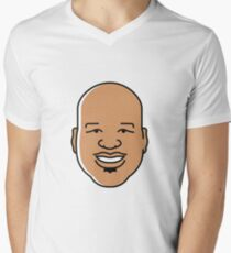 shaq Mens V-Neck T-Shirt