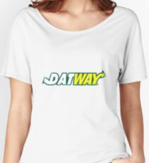 DATWAY Women's Relaxed Fit T-Shirt
