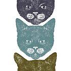 3 Kittens by penwork
