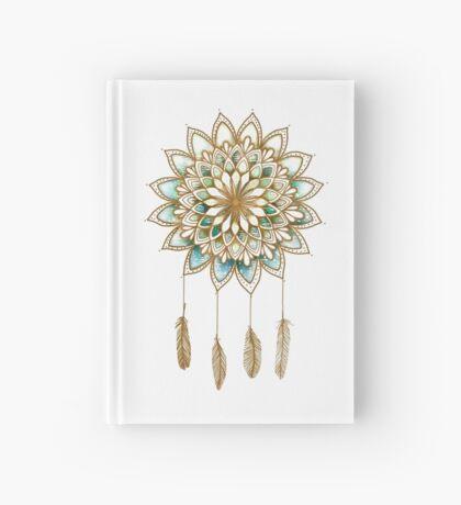 Lotus Flower Dreamcatcher Hardcover Journal