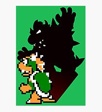 Bowser 8 bit Photographic Print
