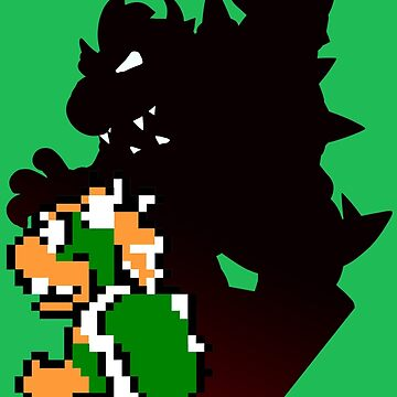 Bowser 8 bit by oponce