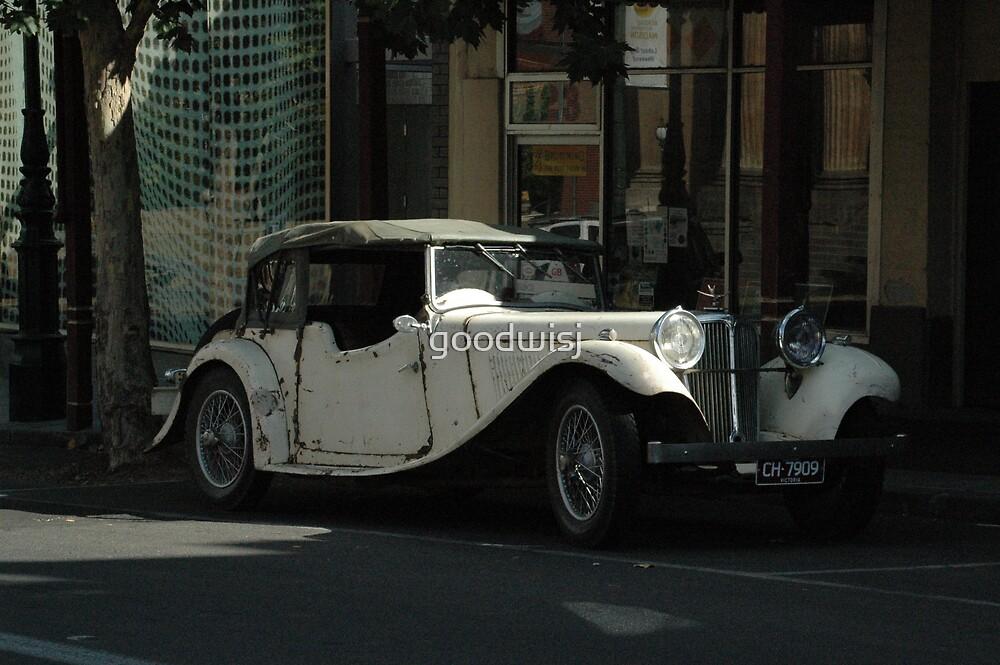 Old Car in Bendigo II by goodwisj