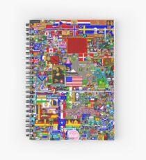Reddit Place Restored Spiral Notebook