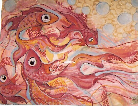 pink fish by nuttybeevers