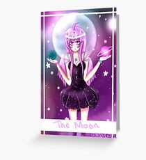Moon Goddess Tarot Greeting Card