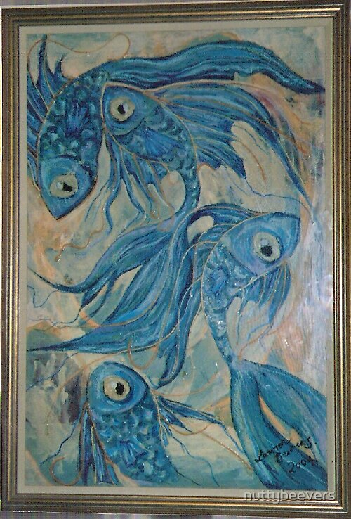 blue fish by nuttybeevers