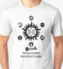 Women of Letters International Chapters Unisex T-Shirt
