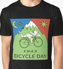Bicycle Day T-shirt - 1943 Vintage (Albert Hofmann LSD) Graphic T-Shirt