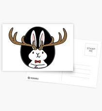 Hello Jackalope! Postcards