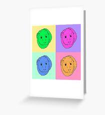 Pop Art Guinea pig Greeting Card