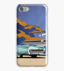 Vintage Travel  Cadillac classic car iPhone Case/Skin