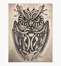 "Owl ""Night Vision"" Photographic Print"