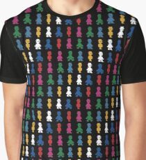 Jet Set (pattern) Graphic T-Shirt