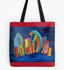The Floating City Tote Bag