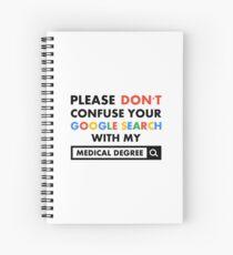 Medical Degree Spiral Notebook