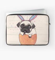 happy pugster Laptoptasche